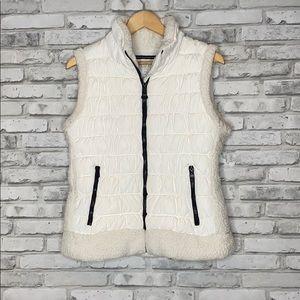Calvin Klein Performance Sherpa Trim Puffer Vest